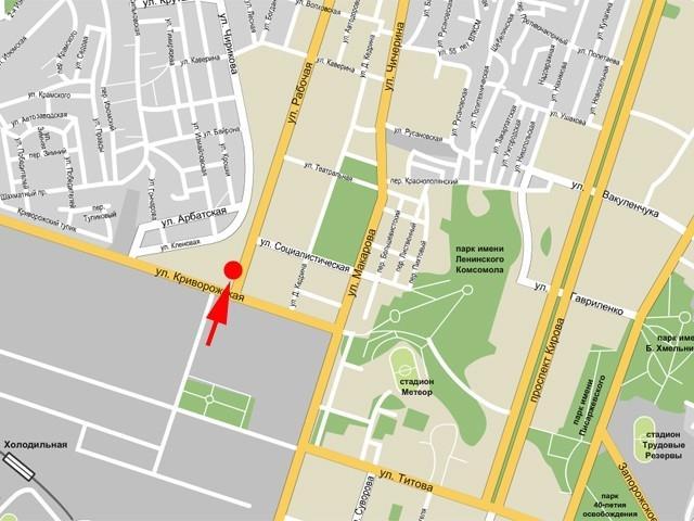 52723 Биллборд в г. Днепропетровск ул. Рабочая, 168 (возле ДК Машиностроителей), вниз (Днепропетровская область) .