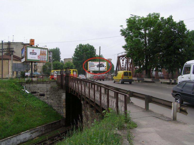 Наружная реклама, A-99694, Львов, Шевченко ул. (переезд через мост, конечная остановка трамвая 7), к центру, бигборд.