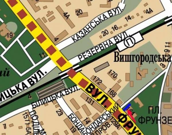 Киев, ул. Фрунзе, 164 - Куреневский рынок.