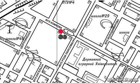 b Карта расположения:/b Борд, Херсонская область, Херсон, Люксембург Розы ул., / от рынка 3.